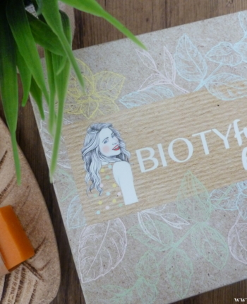 Biotyfull box octobre 2019