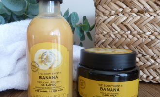shampooing et masque nourrissants à la Banane The Body Shop