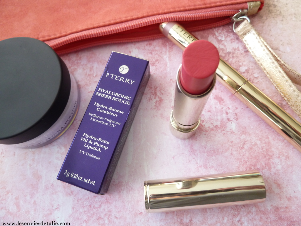 Mon avis sur le Hyaluronic Sheer Rouge By Terry