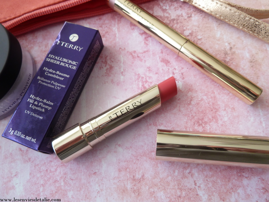 Tube profilé du Hyaluronic Sheer Rouge By Terry