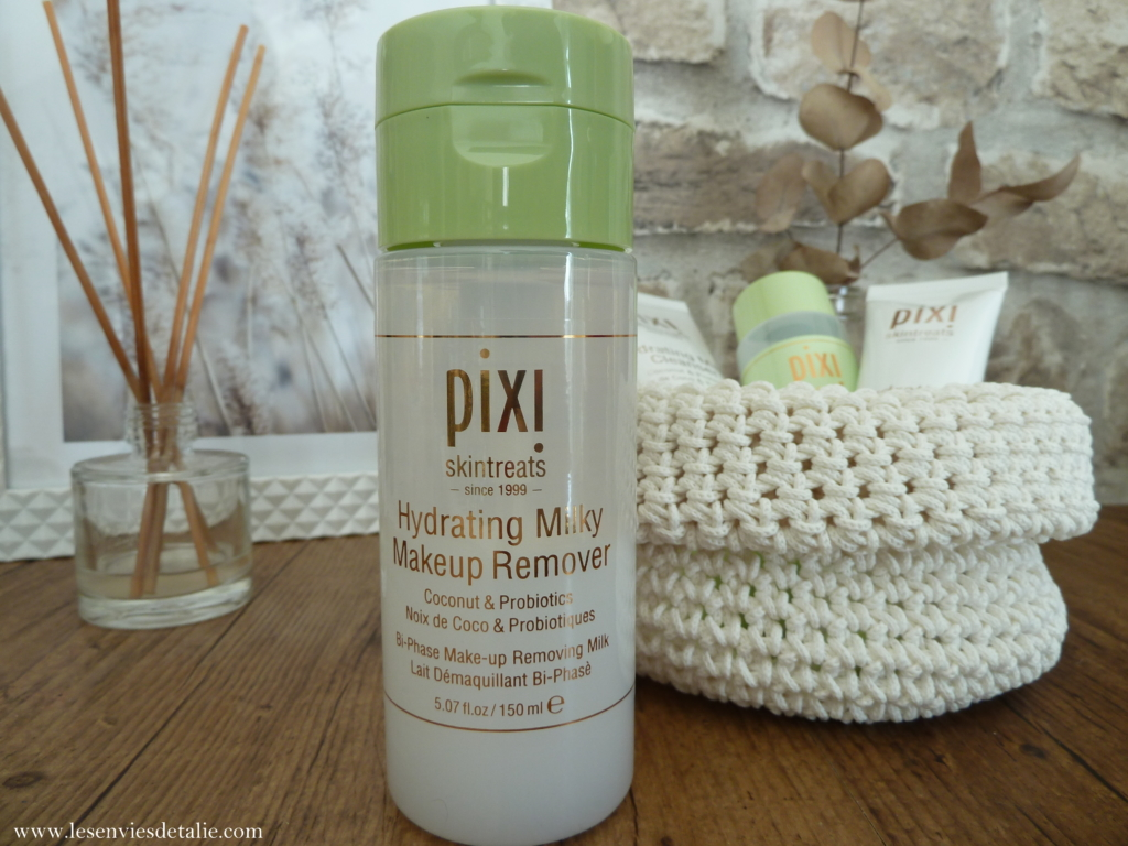 Hydrating milky make-up remover