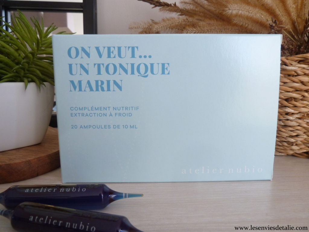 "Atelier Nubio - ""On veut un tonique marin"""