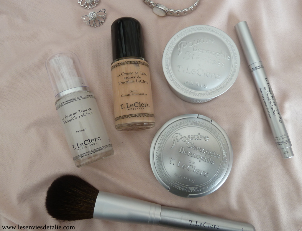 Maquillage teint T. LeClerc