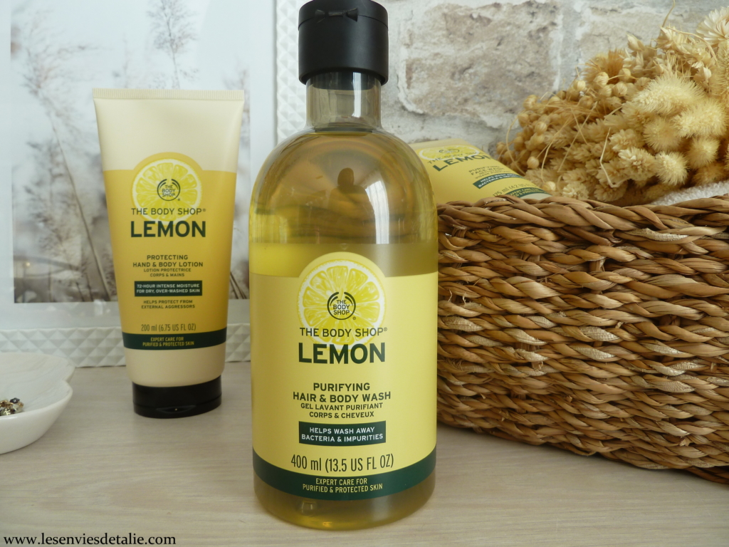Gamme Lemon The Body Shop